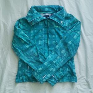 Bench softshell hidden-zip hoodie jacket